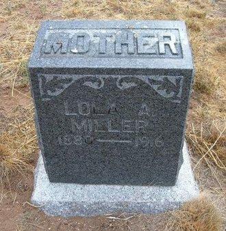 MILLER, LOLA A - Baca County, Colorado | LOLA A MILLER - Colorado Gravestone Photos