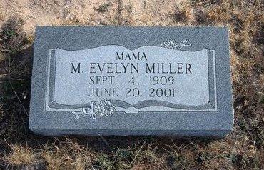 MILLER, MARY EVELYN - Baca County, Colorado | MARY EVELYN MILLER - Colorado Gravestone Photos