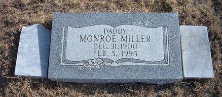 MILLER, MONROE - Baca County, Colorado | MONROE MILLER - Colorado Gravestone Photos