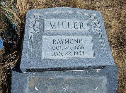 MILLER, RAYMOND - Baca County, Colorado   RAYMOND MILLER - Colorado Gravestone Photos