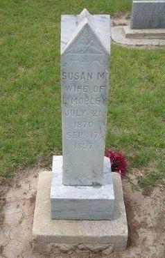 MOBLEY, SUSAN M - Baca County, Colorado | SUSAN M MOBLEY - Colorado Gravestone Photos
