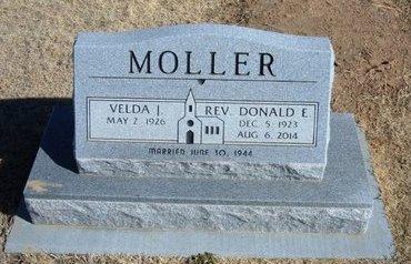 MOLLER, DONALD E - Baca County, Colorado   DONALD E MOLLER - Colorado Gravestone Photos