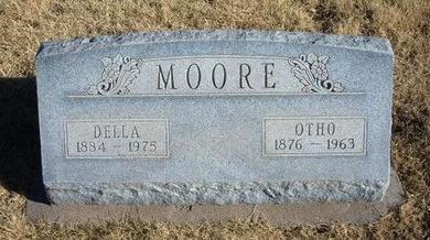 MOORE, DELLA - Baca County, Colorado | DELLA MOORE - Colorado Gravestone Photos