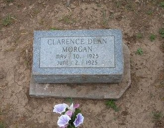 MORGAN, CLARENCE DEAN - Baca County, Colorado | CLARENCE DEAN MORGAN - Colorado Gravestone Photos