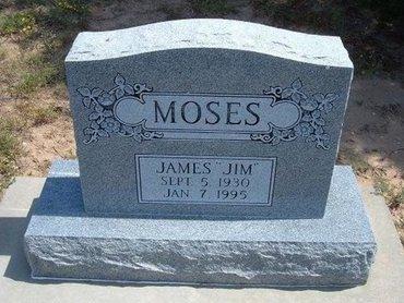 "MOSES, JAMES ""JIM"" - Baca County, Colorado | JAMES ""JIM"" MOSES - Colorado Gravestone Photos"