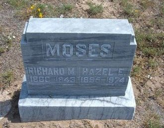 MOSES, RICHARD M - Baca County, Colorado | RICHARD M MOSES - Colorado Gravestone Photos