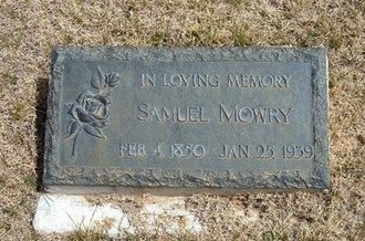 MOWRY, SAMUEL - Baca County, Colorado | SAMUEL MOWRY - Colorado Gravestone Photos