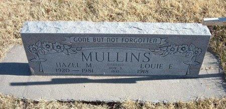 JONES MULLINS, HAZEL M - Baca County, Colorado | HAZEL M JONES MULLINS - Colorado Gravestone Photos