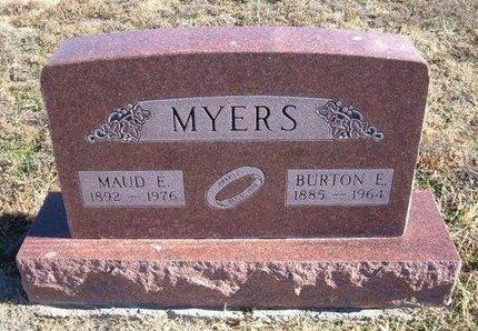 MYERS, BURTON E - Baca County, Colorado | BURTON E MYERS - Colorado Gravestone Photos