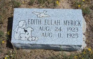 MYRICK, EDITH EULAH - Baca County, Colorado | EDITH EULAH MYRICK - Colorado Gravestone Photos