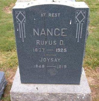 NANCE, JOYSAY - Baca County, Colorado | JOYSAY NANCE - Colorado Gravestone Photos