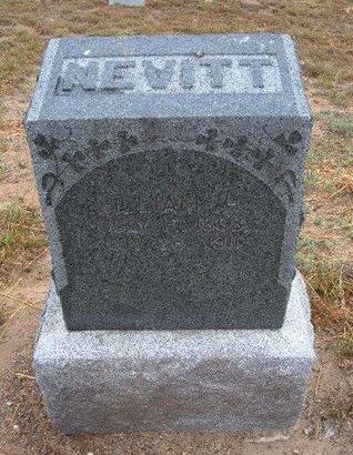 NEVITT, WILLIAM H - Baca County, Colorado | WILLIAM H NEVITT - Colorado Gravestone Photos