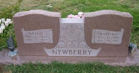 NEWBERRY, OCIE S - Baca County, Colorado | OCIE S NEWBERRY - Colorado Gravestone Photos