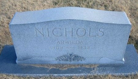 NICHOLS, ARWILDA - Baca County, Colorado | ARWILDA NICHOLS - Colorado Gravestone Photos