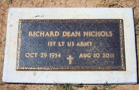 NICHOLS (VETERAN), RICHARD DEAN - Baca County, Colorado | RICHARD DEAN NICHOLS (VETERAN) - Colorado Gravestone Photos