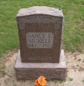 NICKELL, NANCY ELIZABETH - Baca County, Colorado | NANCY ELIZABETH NICKELL - Colorado Gravestone Photos