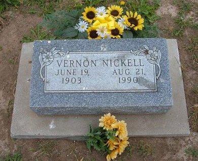 NICKELL, VERNON - Baca County, Colorado | VERNON NICKELL - Colorado Gravestone Photos