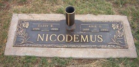 NICODEMUS, ABIE O - Baca County, Colorado | ABIE O NICODEMUS - Colorado Gravestone Photos