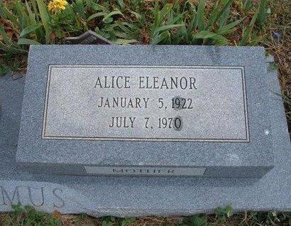 NICODEMUS, ALICE ELEANOR - Baca County, Colorado | ALICE ELEANOR NICODEMUS - Colorado Gravestone Photos