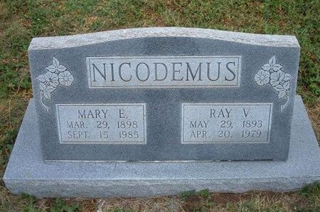 NICODEMUS, RAY VICTOR - Baca County, Colorado | RAY VICTOR NICODEMUS - Colorado Gravestone Photos