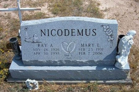 NICODEMUS, RAY ALLEN - Baca County, Colorado | RAY ALLEN NICODEMUS - Colorado Gravestone Photos