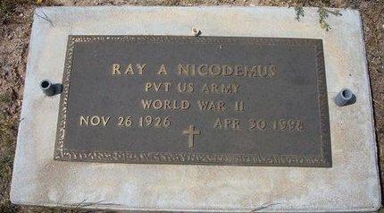NICODEMUS (VETERAN WWII), RAY ALLEN - Baca County, Colorado | RAY ALLEN NICODEMUS (VETERAN WWII) - Colorado Gravestone Photos