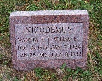 NICODEMUS, WILMA E - Baca County, Colorado | WILMA E NICODEMUS - Colorado Gravestone Photos