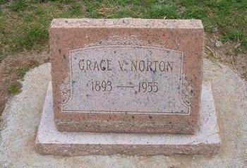 NORTON, GRACE V - Baca County, Colorado | GRACE V NORTON - Colorado Gravestone Photos