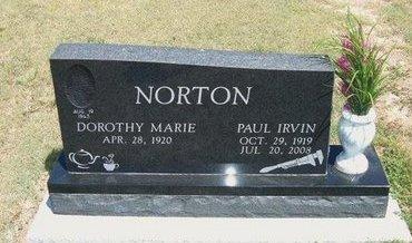 NORTON, PAUL IRVIN - Baca County, Colorado   PAUL IRVIN NORTON - Colorado Gravestone Photos