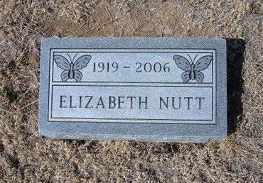 NUTT, ELIZABETH DOROTHEA - Baca County, Colorado | ELIZABETH DOROTHEA NUTT - Colorado Gravestone Photos