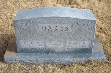 KERR OAKES, PEARL M - Baca County, Colorado | PEARL M KERR OAKES - Colorado Gravestone Photos