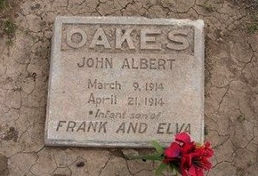 OAKES, JOHN ALBERT - Baca County, Colorado   JOHN ALBERT OAKES - Colorado Gravestone Photos