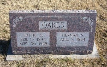 OAKES, LOTTIE E - Baca County, Colorado | LOTTIE E OAKES - Colorado Gravestone Photos