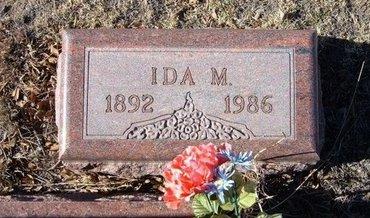 OGDEN, IDA M - Baca County, Colorado | IDA M OGDEN - Colorado Gravestone Photos