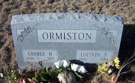 ORMISTON, GEORGE DODGE - Baca County, Colorado | GEORGE DODGE ORMISTON - Colorado Gravestone Photos