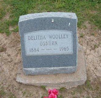WOOLLEY OSBURN, DELITHA - Baca County, Colorado | DELITHA WOOLLEY OSBURN - Colorado Gravestone Photos