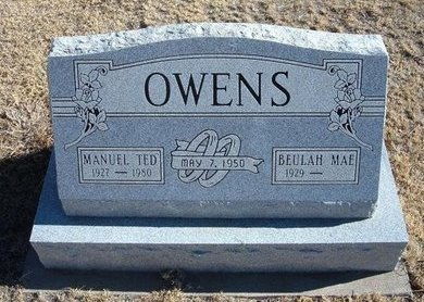 """OWENS, MANUEL """"TED"""" - Baca County, Colorado   MANUEL """"TED"""" OWENS - Colorado Gravestone Photos"""