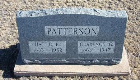 PATTERSON, CLARENCE G - Baca County, Colorado | CLARENCE G PATTERSON - Colorado Gravestone Photos
