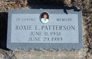 PATTERSON, ROXIE L - Baca County, Colorado | ROXIE L PATTERSON - Colorado Gravestone Photos