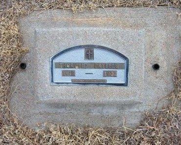 PAYBERG, THORVALD - Baca County, Colorado | THORVALD PAYBERG - Colorado Gravestone Photos