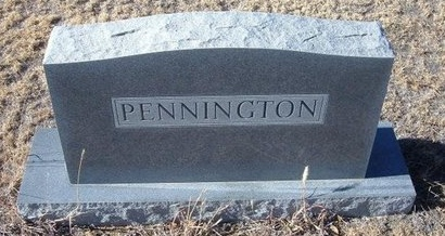 PENNINGTON FAMILY GRAVESTONE,  - Baca County, Colorado |  PENNINGTON FAMILY GRAVESTONE - Colorado Gravestone Photos
