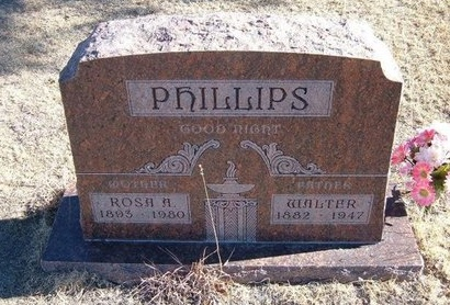 PHILLIPS, ROSA A - Baca County, Colorado | ROSA A PHILLIPS - Colorado Gravestone Photos