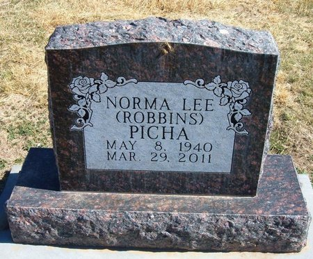 ROBBINS PICHA, NORMA LEE - Baca County, Colorado | NORMA LEE ROBBINS PICHA - Colorado Gravestone Photos