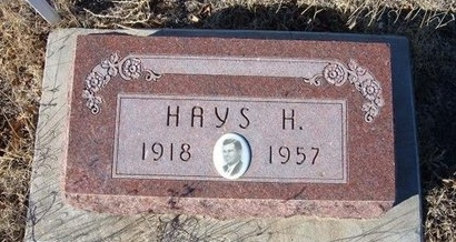 PORTER (VETERAN WWII), HAYS H - Baca County, Colorado | HAYS H PORTER (VETERAN WWII) - Colorado Gravestone Photos