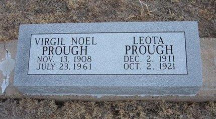 PROUGH, VIRGIL NOEL - Baca County, Colorado   VIRGIL NOEL PROUGH - Colorado Gravestone Photos
