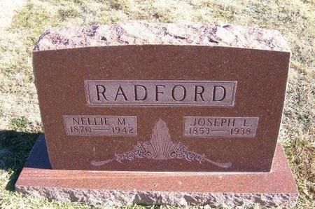 RADFORD, NELLIE M - Baca County, Colorado | NELLIE M RADFORD - Colorado Gravestone Photos