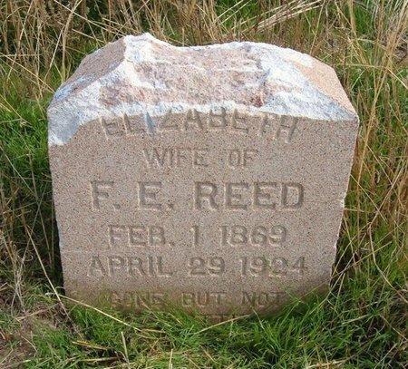 REED, ELIZABETH - Baca County, Colorado | ELIZABETH REED - Colorado Gravestone Photos