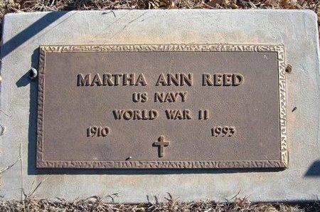 REED (VETERAN WWII), MARTHA ANN - Baca County, Colorado | MARTHA ANN REED (VETERAN WWII) - Colorado Gravestone Photos