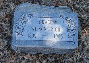 RICH, GRACE - Baca County, Colorado   GRACE RICH - Colorado Gravestone Photos