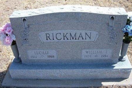 RICKMAN, LUCILLE - Baca County, Colorado   LUCILLE RICKMAN - Colorado Gravestone Photos